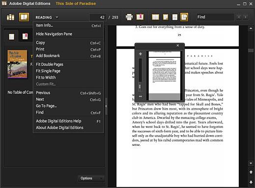 adobe digital editions save as pdf