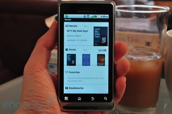 App Sony Reader for Android