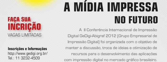II Conferência Internacional de Impressão Digital