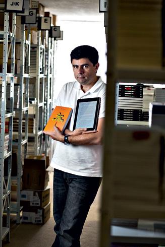Marcelo Duarte, da Panda Books, já digitalizou parte do seu catálogo
