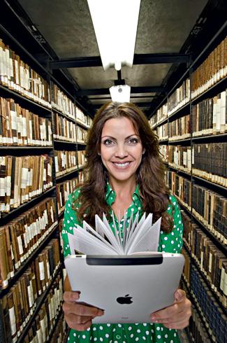 Thalita Rebouças vendeu mais de um milhão de livros de papel, mas é fã da leitura nos e-readers