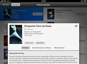 """50 Tons de Cinza"", eBook em português à venda na iBookstore"