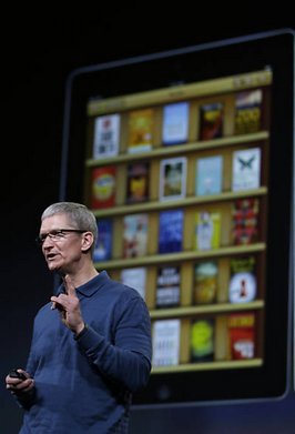 Tim Cook fala sobre a nova versão do iBooks | Marcio Jose Sanchez/Associated Press