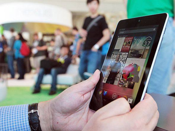 Levantamento de consultoria indica que 2,6 milhões de tablets serão vendidos no Brasil até o fim deste ano | Photo Mathew Sumner Getty Images
