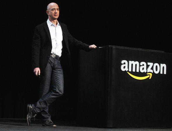 O presidente-executivo da Amazon, Jeff Bezos: no Brasil pela primeira vez, a empresa vai iniciar a operação pelo mercado de eBooks