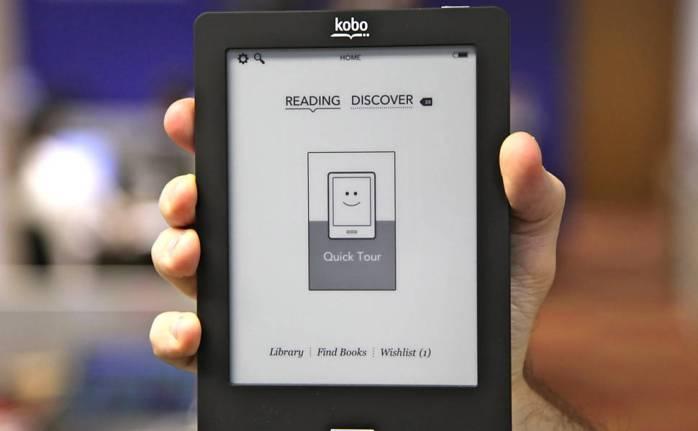 O Kobo Touch, leitor de livros eletrônicos (e-books) lançado no Brasil em parceria da fabricante com a Livraria Cultura, tem tela sensível ao toque