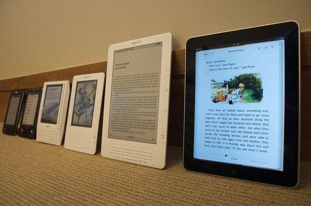 E-readers perdem espaço para os tablets e smartphones