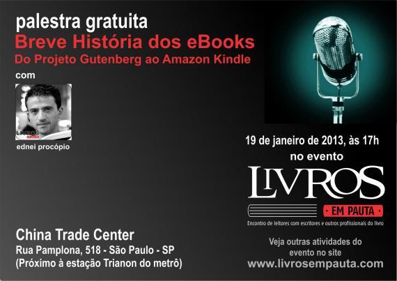 Breve História dos eBooks   Do Projeto Gutenberg ao Amazon Kindle