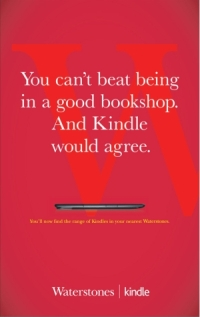 You cant beat being in a good bookshop. And Kindle would agree