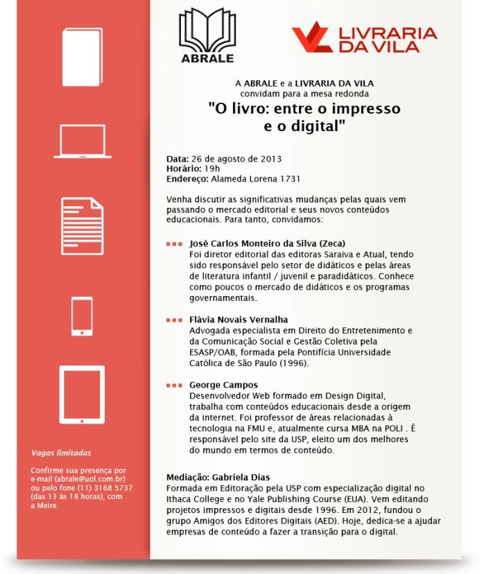O livro: entre o impresso e o digital