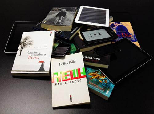 eBooks já fazem sucesso no mundo todo, mas para substituir os livros impressos,ainda têm um longo caminho a percorrer. Foto: Divulgação