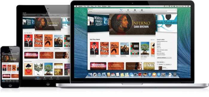 De best-sellers e clássicos da literatura a livros didáticos, é fácil encontrar o que você procura na iBooks Store. Você pode pesquisar por título, autor ou gênero e clicar para ver os detalhes, as críticas ou ler uma amostra grátis.