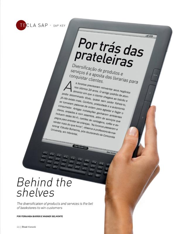 Por trás das prateleiras | Revista Brasil-Canadá