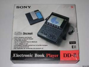 Sony Data_Discman | Electronic Book Player modelo DD-8