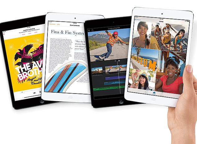 iPad mini supera o papel em portabilidade, mobilidade e legibilidade