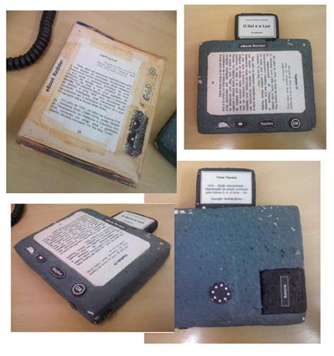 Duas das ideias de eBook Reader que tive em meados de 2000