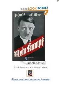 A página de venda do ebook 'Mein Kampf' na Amazon Reprodução  Leia mais sobre esse assunto em http://oglobo.globo.com/cultura/editora-brasileira-leva-ebook-mein-kampf-de-hitler-as-listas-de-mais-vendidos-11255628#ixzz2q0mcoIOK  © 1996 - 2014. Todos direitos reservados a Infoglobo Comunicação e Participações S.A. Este material não pode ser publicado, transmitido por broadcast, reescrito ou redistribuído sem autorização.