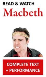 """""""MacBeth"""" cover from WordPlay Shakespeare. ONE TIME USE ONLY"""