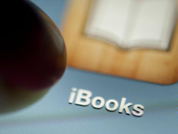 Aplicativo iBooks em um iPad da Apple: empresa foi considerada culpada no ano passado de conspirar com cinco editoras para fixar os preços dos livros eletrônicos