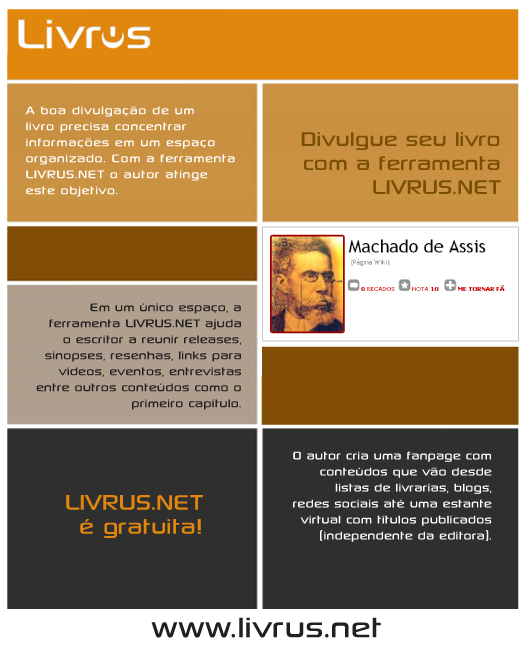 Divulgue seu livro com a ferramenta LIVRUS.NET