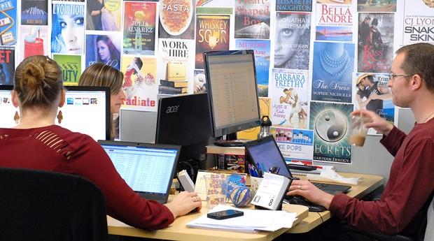 A proposta da empresa é enviar alertas aos seus usuários sobre livros eletrônicos com desconto ou gratuitos por tempo limitado | Foto: Divulgação