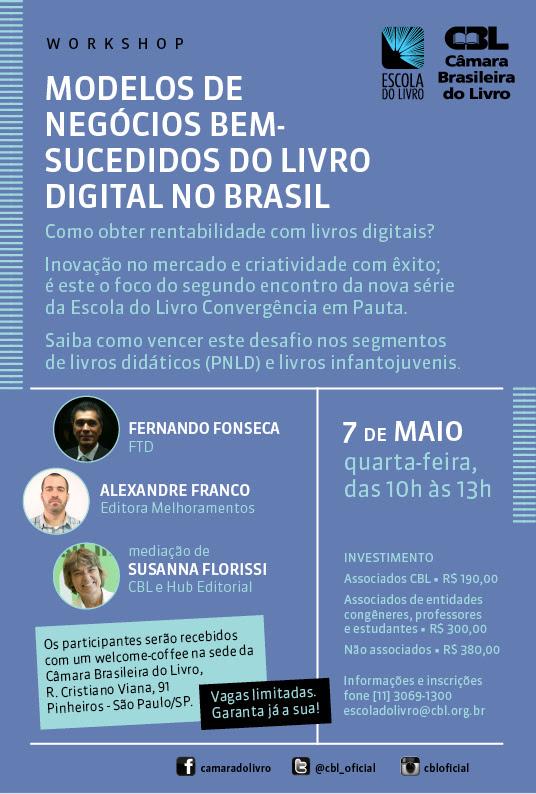 Escola do Livro: Modelos de negócios bem-sucedidos do Livro Digital no Brasil