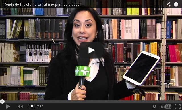 Venda de tablets no Brasil não para de crescer