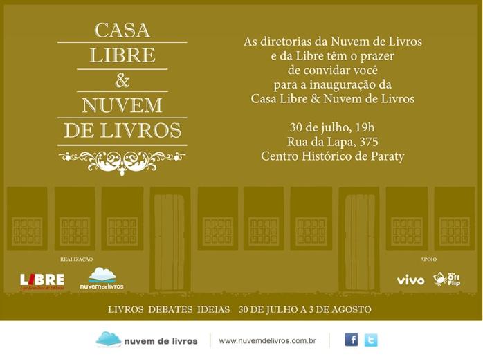 Casa Libre & Nuvem de Livros