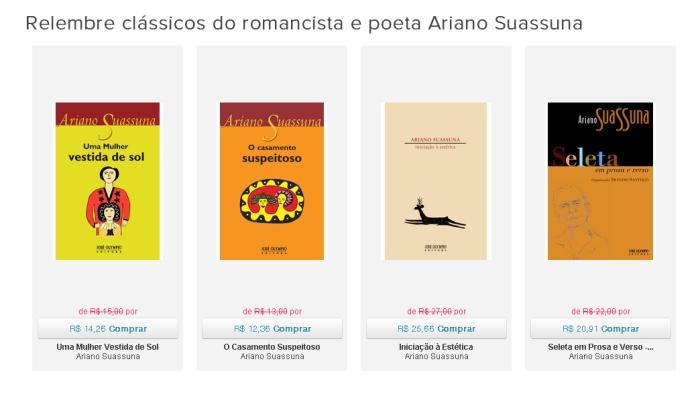 Relembre clássicos do romancista e poeta Ariano Suassuna