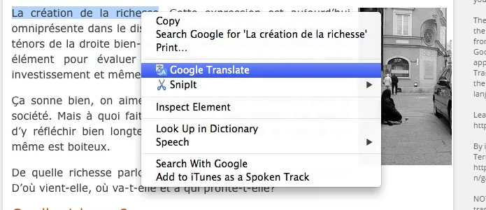 Ficou mais fácil traduzir trechos, palavras ou sites com a nova extensão do Tradutor | Foto:Reprodução/Google