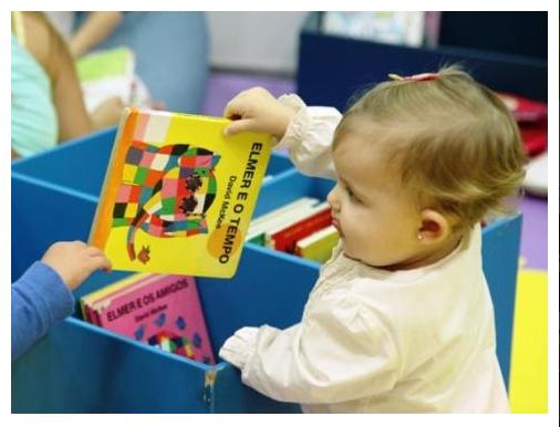 Hábito da leitura deve ser estimulado desde cedo   FOTO: Salão FNLIJ do Livro para Crianças e Jovens