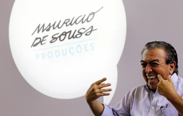 'Mauricio de Sousa nunca acreditou na canibalização do digital'. FOTO: Estadão