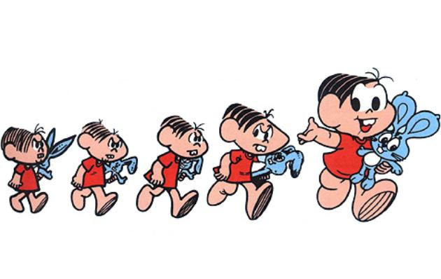 Primeiras edições de 'Turma da Mônica' surgiram na década de 1960. FOTO: Reprodução