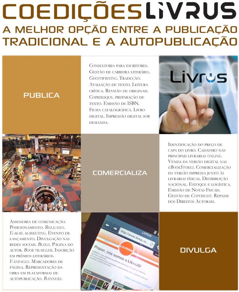 A LIVRUS oferece um portf�lio completo de servi�os editoriais