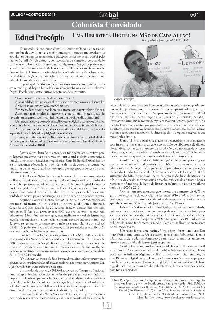 Publicado originalmente no GREBAL LITERÁRIO | Órgão Informativo Oficial do Grêmio Barramansense de Letras | Agosto de 2016