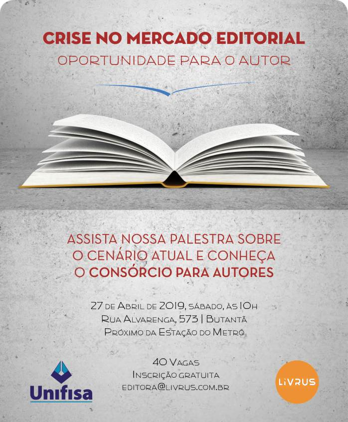 Assista a nossa palestra sobre o cenário editorial atual e conheça o Consórcio para Autores.
